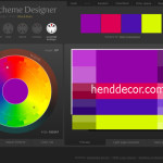 Конструктор для подбора цветовых схем  Color Scheme Designer